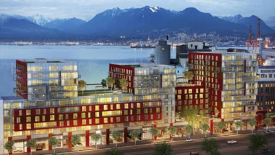 Industrial grit meets residential glass in Vancouver