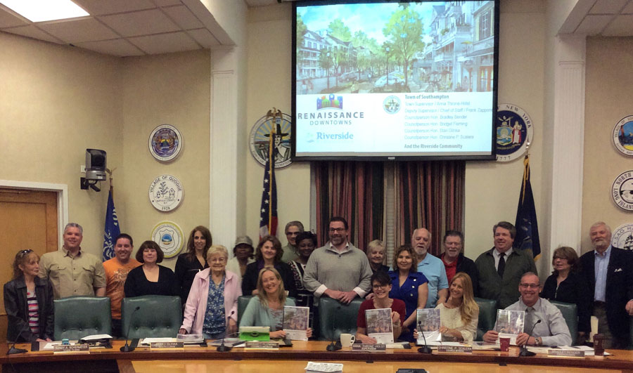 Community submits crowdsourced plan to Town of Southampton