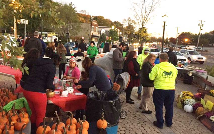 Fall 2015 recap of the crowdsourced placemaking effort in Huntington Station, NY